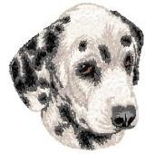 Borduurapplicatie Dalmatische Hond EMB002 - variant 1