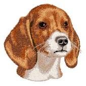 Borduurapplicatie Beagle EMB006 - rechts kijkend