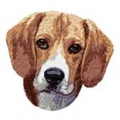 Borduurapplicatie Beagle EMB008 - rechts kijkend