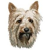Borduurapplicatie Australian Silky Terrier EMB002 - rechts kijkend