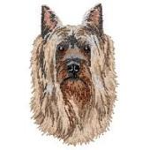 Borduurapplicatie Australian Silky Terrier EMB005 - rechts kijkend