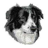 Borduurapplicatie Australian Shepherd EMB012 - variant 1