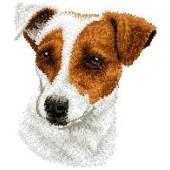 Borduurapplicatie Jack Russell Terrier EMB001 - variant 1