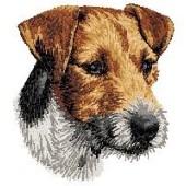 Borduurapplicatie Jack Russell Terrier EMB003 - variant 1