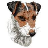 Borduurapplicatie Jack Russell Terrier EMB004 - variant 1