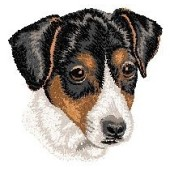 Borduurapplicatie Jack Russell Terrier EMB005 - variant 1