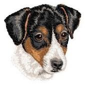 Borduurapplicatie Parson Russell Terrier EMB005 - variant 1