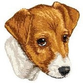 Borduurapplicatie Parson Russell Terrier EMB006 - variant 1