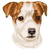 Borduurapplicatie Parson Russell Terrier EMB007 - variant 1