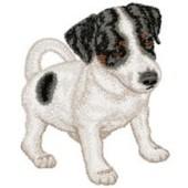 Borduurapplicatie Jack Russell Terrier EMB008 - variant 1