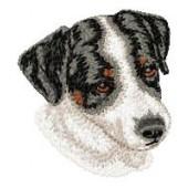 Borduurapplicatie Parson Russell Terrier EMB009 - variant 1
