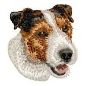 Borduurapplicatie Jack Russell Terrier EMB011 - variant 1