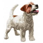 Borduurapplicatie Jack Russell Terrier EMB012 - variant 1