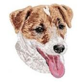 Borduurapplicatie Jack Russell Terrier EMB014 - variant 1
