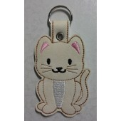 Kitty the Cat ESD001 - licht ecru kunstleer - kleurencombinatie 1