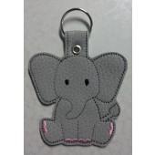 Elly the Elephant ESD001 - licht grijs kunstleer - kleurencombinatie 1