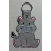 Hilly The Hippo ESD001 - licht grijs kunstleer - kleurencombinatie 1
