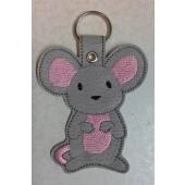 Millie the Mouse ESD001 - licht grijs kunstleer - kleurencombinatie 1