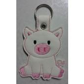 Porky the Pig ESD001 - wit kunstleer - kleurencombinatie 1