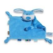 Labeltutdoekje Hond - blauw