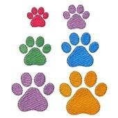 Borduurapplicatie hondenpootje GG273
