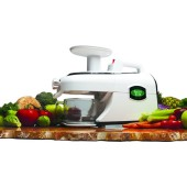 Greenstar Elite GSE-5000 slowjuicer en food processor