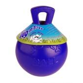 Jolly Ball met handvat - blauw - 20 cm.