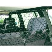Auto veiligheidsnet - Afmeting: 122 * 63 cm. - Kleur: Zwart