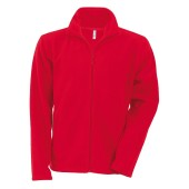 "Kariban full-zip fleece vest ""Falco"" - unisex - Red"