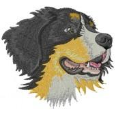 Borduurapplicatie Berner Sennenhond MED33938 - rechts kijkend