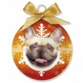 Kerstbal Franse Bulldog
