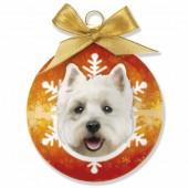 Kerstbal West Highland White Terrier