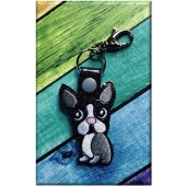 Sleutelhanger Boston Terrier NA001