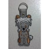 Sleutelhanger Chinese Naakthond NA001