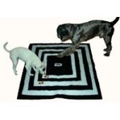 Dog Treat Trapper - Zwart/wit - Stof
