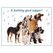 Otterhouse - Barking Good Supper - Reuze-placemat ca. 54,5 * 42 cm