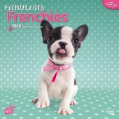 Kalender Franse Bulldog 2016 - Fabulous Frenchies