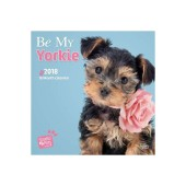 Kalender Be My Yorkie 2018 - Studio Pets by Myrna - voorblad