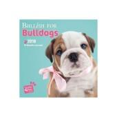 Kalender Bullish for Bulldogs 2018 - Studio Pets by Myrna - voorblad