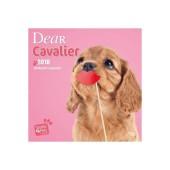 Kalender Dear Cavalier 2018 - Studio Pets by Myrna - voorblad
