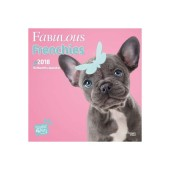 Kalender Fabulous Frenchies 2018 - Studio Pets by Myrna - voorblad