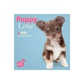 Kalender Puppy Love 2018 - Studio Pets by Myrna - voorblad