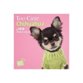 Kalender Too Cute Chihuahua 2018 - Studio Pets by Myrna - voorblad