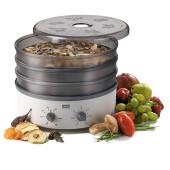 Stöckli ST-0076.72-TM voedseldroger met timer en metalen roosters