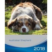 Kalender Australian Shepherd 2018 - Trixie - voorblad