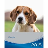 Kalender Beagle 2018 - Trixie - voorblad