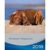 Kalender Rhodesian Ridgeback 2018 - Trixie - voorblad