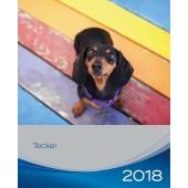 Kalender Teckel 2018 - Trixie - voorblad
