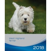 Kalender West Highland White Terrier 2018 - Trixie - voorblad