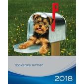 Kalender Yorkshire Terrier 2018 - Trixie - voorblad